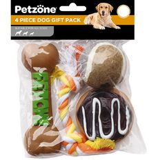 Petzone Dog Value Gift Pack 4 Piece