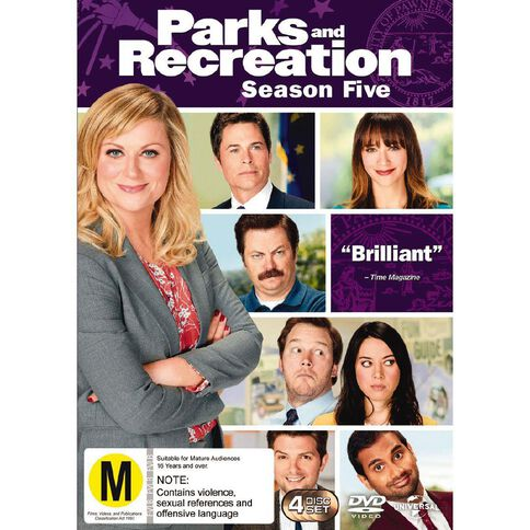 Parks and Recreation Season 5 DVD 4Disc