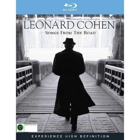 Leonard Cohen Songs From The Road Blu-ray 1Disc