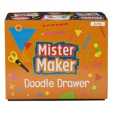 Mister Maker Doodle Drawers Orange Black