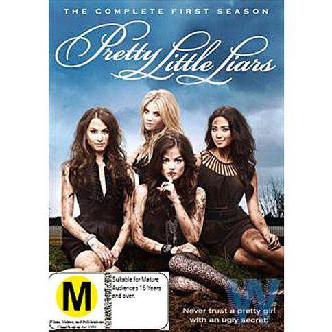 Pretty Little Liars Season 1 DVD 5Disc