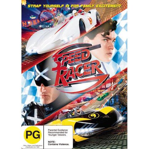 Speed Racer DVD 1Disc