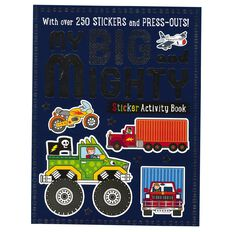 My Big and Mighty Sticker Activity Books