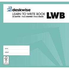 Deskwise Exercise Book Learn To Write Dotted 7mm Ruled 32 Leaf