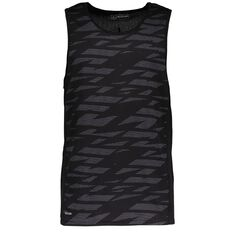 Active Intent Men's All Over Print Front Singlet