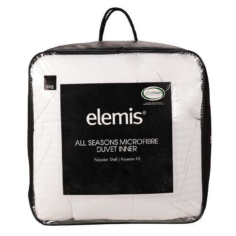 Elemis Duvet Inner All Seasons Microfibre 245cm x 210 cm 255g King