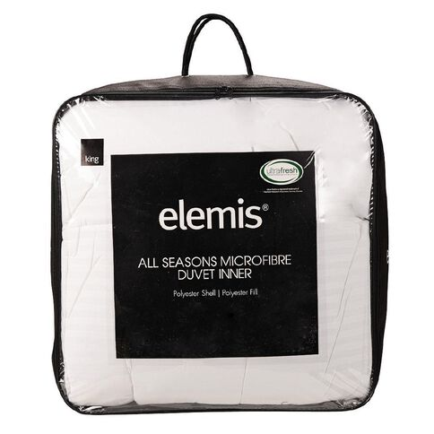 Elemis Duvet Inner All Seasons Microfibre 210cm x 210cm 255g Queen