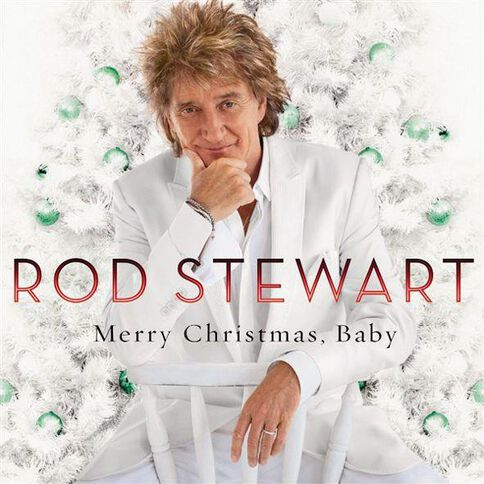 Merry Christmas Baby (Deluxe Edition) by Rod Stewart CD/DVD