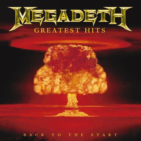 Greatest Hits CD by Megadeath 1Disc