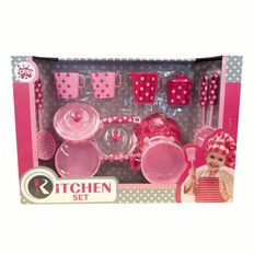 Play Studio Kitchen Set 15 Pieces