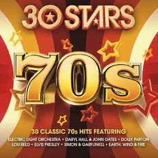 30 Stars 70s CD by Various Artists 2Disc