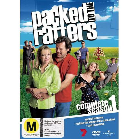 Packed To The Rafters Season 1 DVD 5Disc