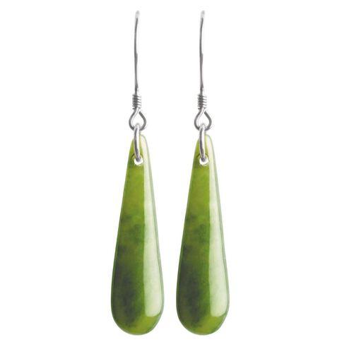 Jade Earrings Mere 30mm