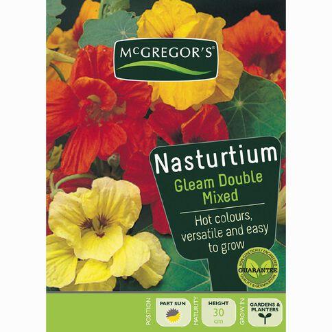 McGregor's Nasturtium Gleam Double Flower Seeds