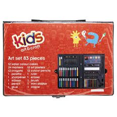 Kids' Art & Craft Art Set 82 Piece