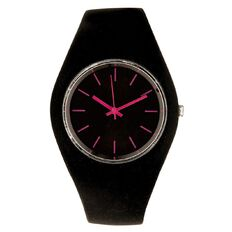 Silicone Watch Black