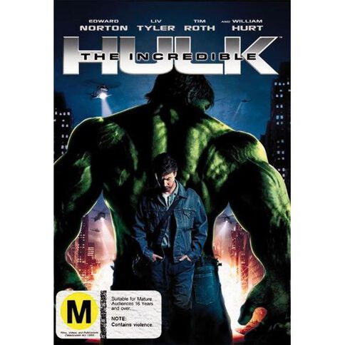 The Incredible Hulk DVD 1Disc