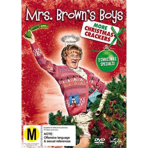 Mrs Browns Boys More Christmas Crackers DVD 1Disc