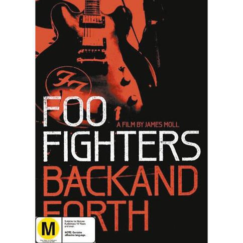 Foo Fighters Back And Forth DVD 1Disc