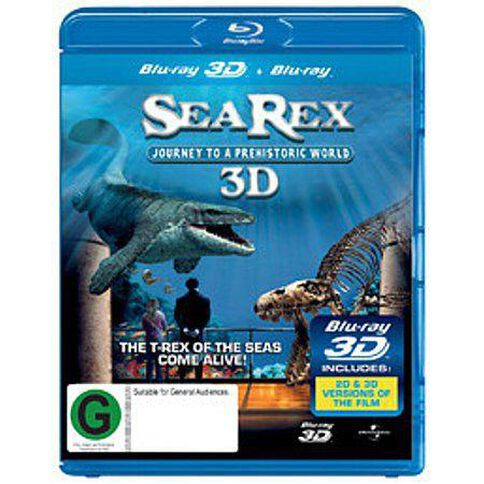 Sea Rex  Journey To A Prehistoric World 3D Blu-ray 1Disc