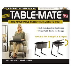 As Seen On TV Table Mate Black