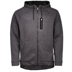 Active Intent Men's Raglan Zip Tie Sweatshirt
