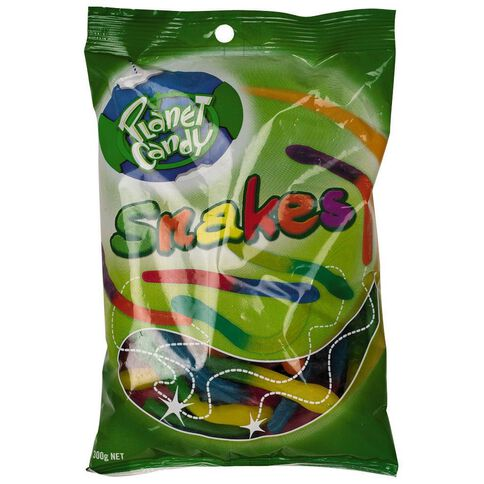 Planet Candy Snakes 300g