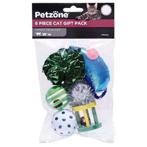 Petzone Cat Value Gift Pack 6 Piece
