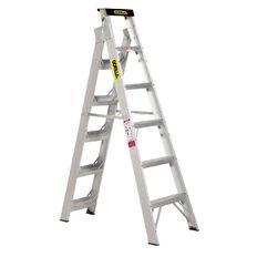 Gorilla Dual Purpose Aluminium Ladder 6 Step