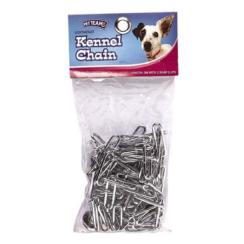 Pet Team Lightweight Kennel Chain 3 Metre