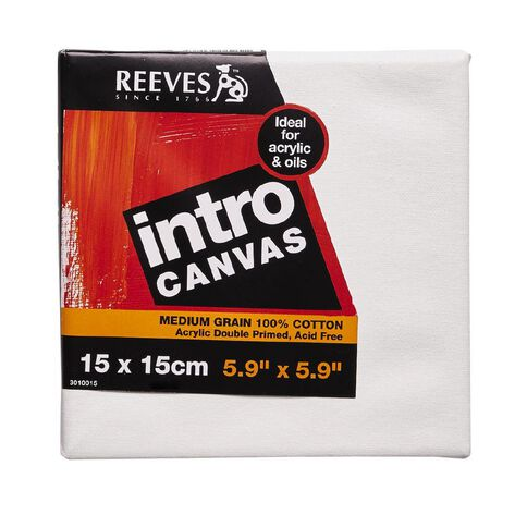 Reeves Intro Canvas 5.9 x 5.9inch