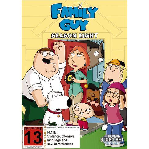 Family Guy Season 8 DVD 3Disc