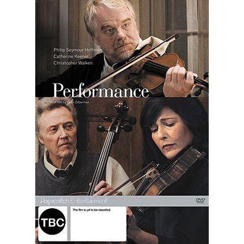 Performance DVD 1Disc