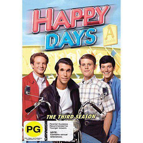 Happy Days Season 3 DVD 3Disc