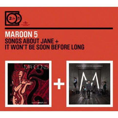 2 For 1 CD by Maroon 5 2Disc