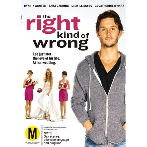 The Right Kind Of Wrong DVD 1Disc