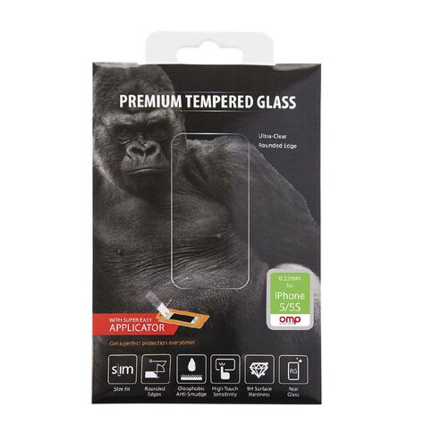OMP Glass Screen Protector iPhone 5/5S