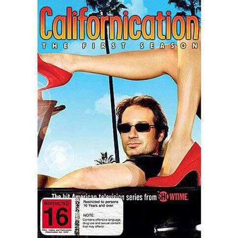 Californication Season 1 DVD 2Discs