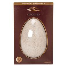 Waikato Valley Chocolates #12 Indulgent White Cookies & Cream Egg 220g