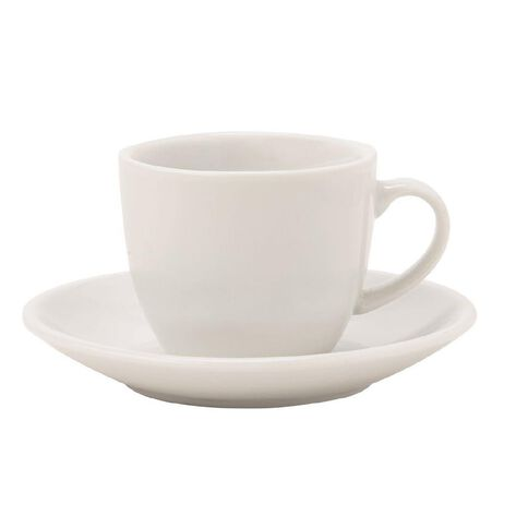 Harrison & Lane Serve Espresso Cup and Saucer White