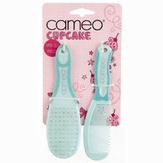Cameo Cupcake Baby Brush & Comb Set