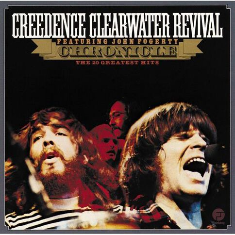 Chronicle 20 Greatest Hits CD by Creedence Clearwater Revival 1Disc
