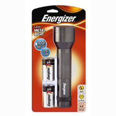 Energizer LED Metal Torch 2D