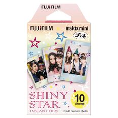Fujifilm Instax Mini Shinys Film 10 Pack