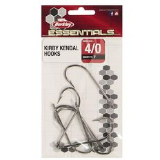 Berkley Essential Kirby Hook Pack 4/0