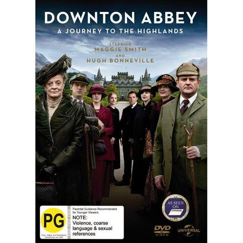 Downton Abbey A Journey To The Highlands DVD 1Disc