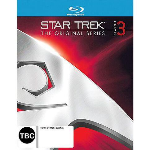 Star Trek The Original Series Season 3 Blu-ray 6Disc
