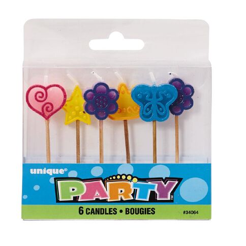 Unique Candle Party Girl Picks 6 Pack