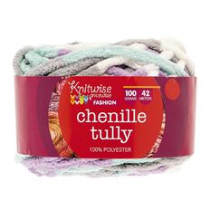 Knitwise Yarn Chenille Tully Lilac Heaven 100g