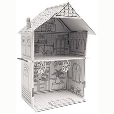 Creakids Club Make Your Own Dollhouse